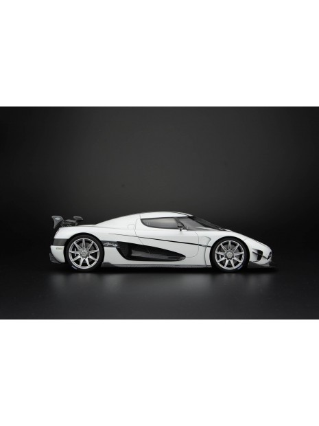 Koenigsegg Agera RS (blanc) 1/18 Frontiart FrontiArt - 3