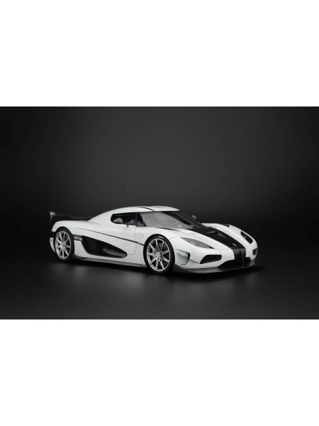 Koenigsegg Agera RS (blanc) 1/18 Frontiart FrontiArt - 4