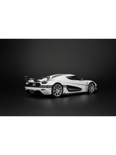 Koenigsegg Agera RS (blanc) 1/18 Frontiart FrontiArt - 5