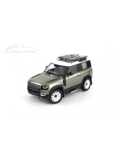 Land Rover Defender 90 2020 (Green Pangea) 1/18 Almost Real Almost Real - 1