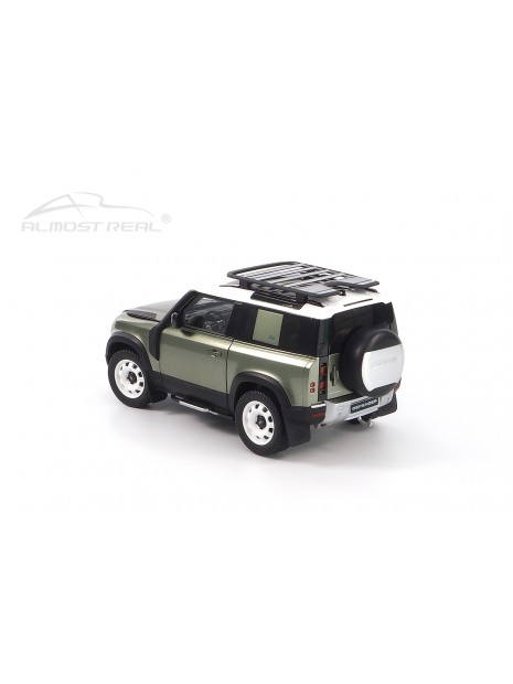 Land Rover Defender 90 2020 (Green Pangea) 1/18 Almost Real Almost Real - 2