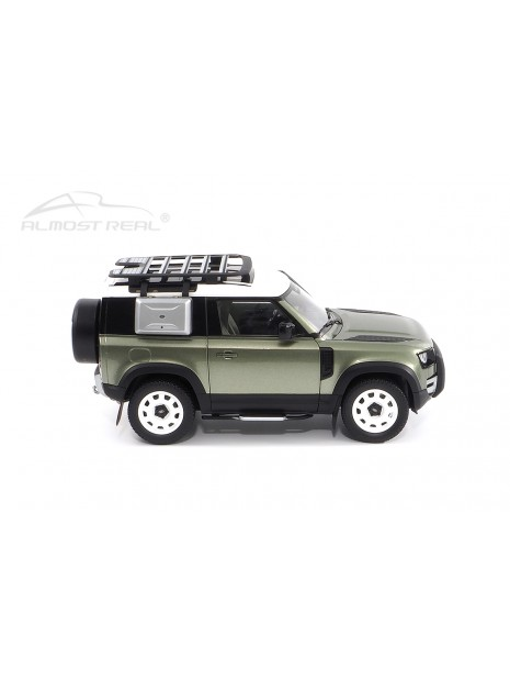 Land Rover Defender 90 2020 (Green Pangea) 1/18 Almost Real Almost Real - 4