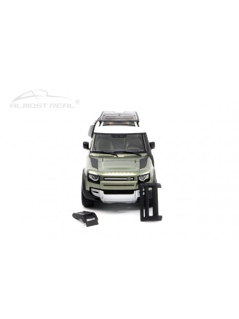 Land Rover Defender 90 2020 (Green Pangea) 1/18 Almost Real Almost Real - 5