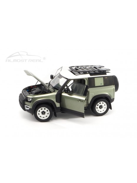 Land Rover Defender 90 2020 (Vert Pangea) 1/18 Almost Real Almost Real - 6