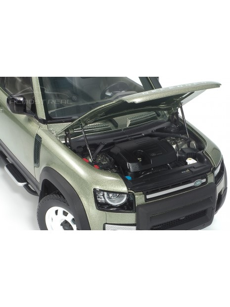 Land Rover Defender 90 2020 (Green Pangea) 1/18 Almost Real Almost Real - 7