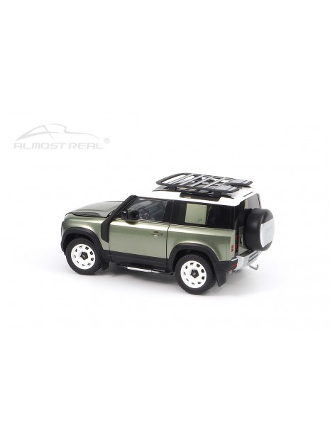 Land Rover Defender 90 2020 (Vert Pangea) 1/18 Almost Real Almost Real - 9
