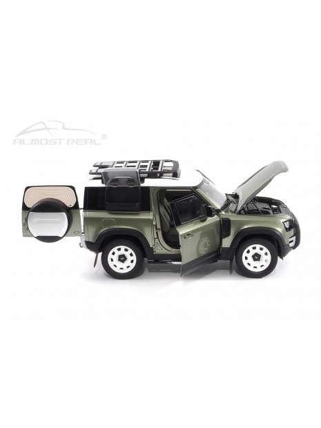 Land Rover Defender 90 2020 (Green Pangea) 1/18 Almost Real Almost Real - 10