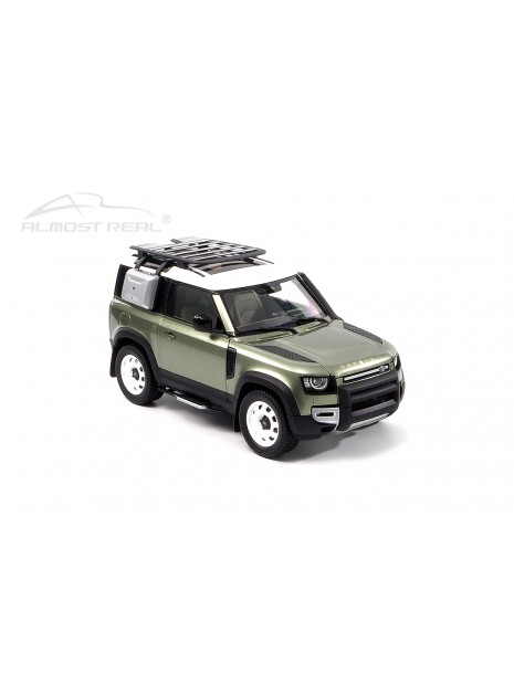 Land Rover Defender 90 2020 (Green Pangea) 1/18 Almost Real Almost Real - 11