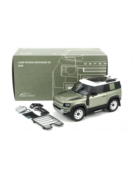 Land Rover Defender 90 2020 (Green Pangea) 1/18 Almost Real Almost Real - 13