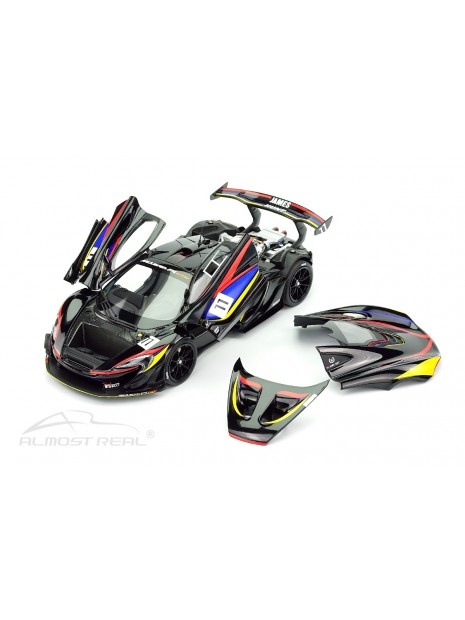 McLaren P1 GTR James Hunt 40th Anniversary 1/18 Almost Real Almost Real - 7