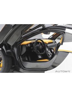 Porsche 911 993 RWB matt black Autoart 1/18