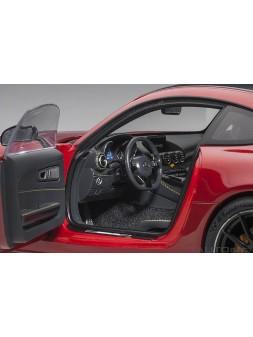 Porsche 918 Spyder Weissach Package silver 1/12 AUTOart