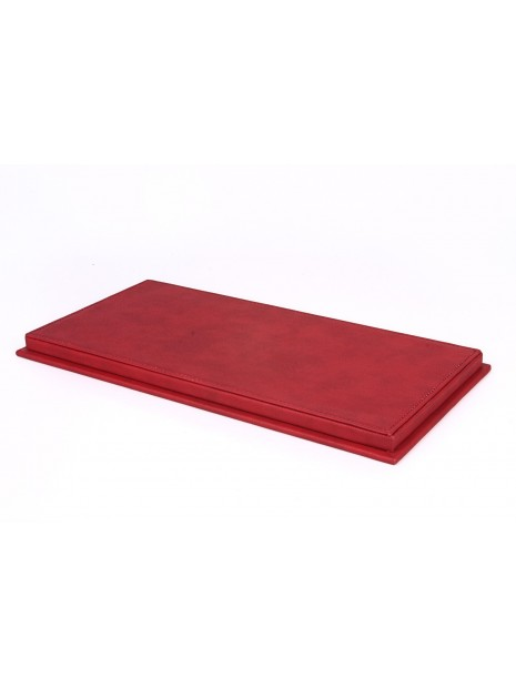 Display Case Red Leatherette Base 1/18 BBR BBR Models - 3
