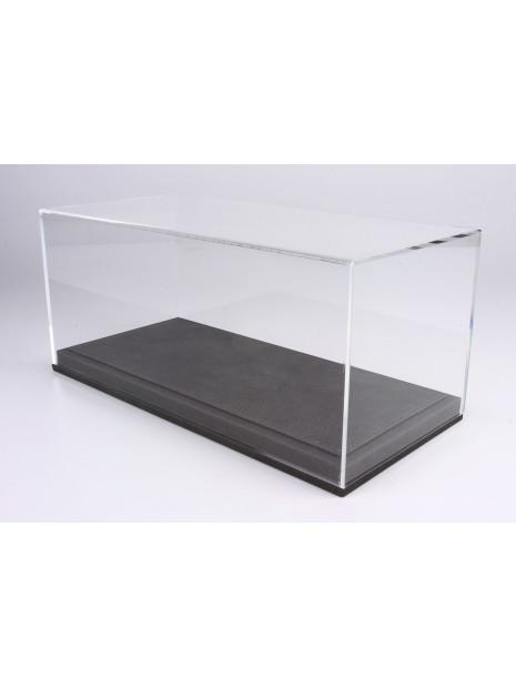 Display Case With Grey Leatherette Base 1/18 BBR BBR Models - 1