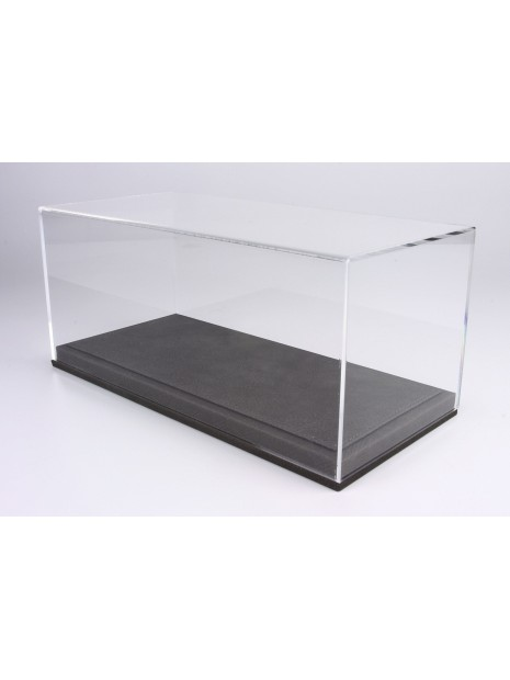 Vitrine plexiglas avec socle en cuir gris 1/18 BBR BBR Models - 1