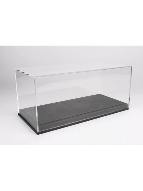 Vitrine plexiglas avec socle en cuir gris 1/18 BBR BBR Models - 3