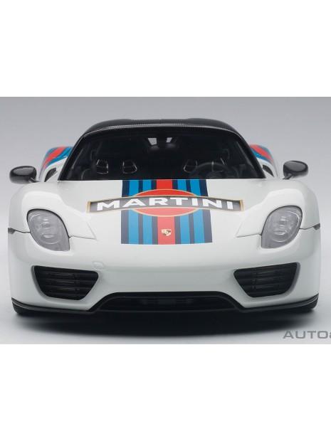 Porsche 918 Spyder Weissach Package Martini 1/18 AUTOart AUTOart - 2