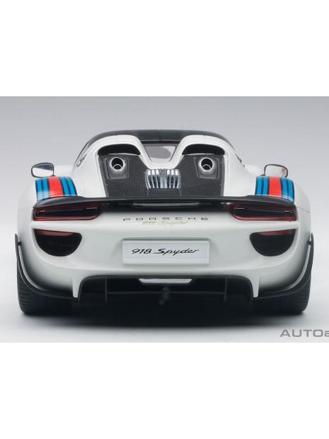 Porsche 918 Spyder Weissach Package Martini 1/18 AUTOart AUTOart - 3