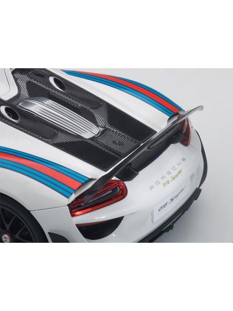 Porsche 918 Spyder Weissach Package Martini 1/18 AUTOart AUTOart - 6