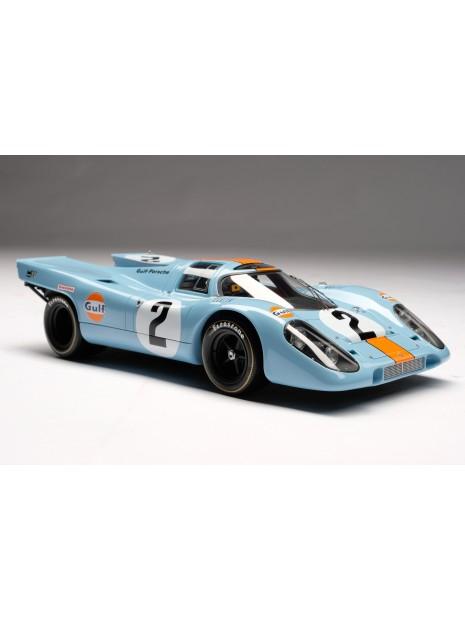 Porsche 917K Gulf Winner Daytona 1970 1/18 Amalgam Amalgam Collection - 1