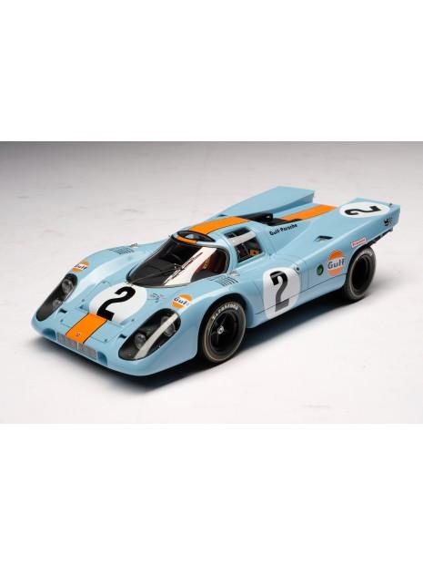 Porsche 917K Gulf Winner Daytona 1970 1/18 Amalgam Amalgam Collection - 2