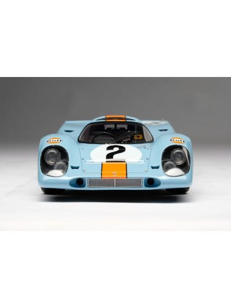 Porsche 917K Gulf Winner Daytona 1970 1/18 Amalgam Amalgam Collection - 3