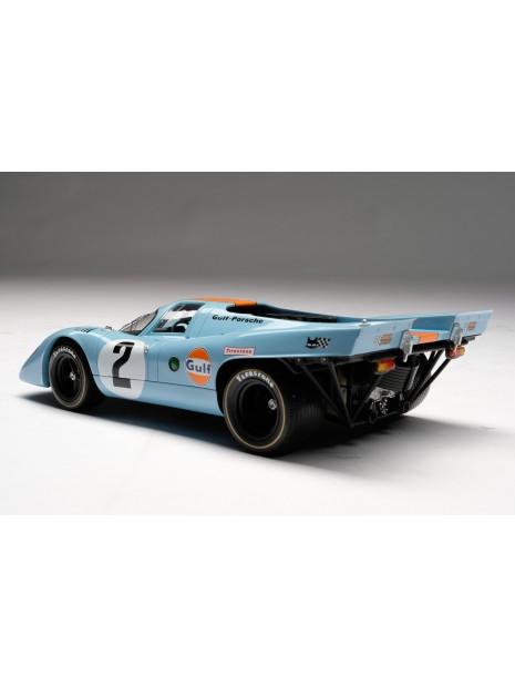 Porsche 917K Gulf Winner Daytona 1970 1/18 Amalgam Amalgam Collection - 5