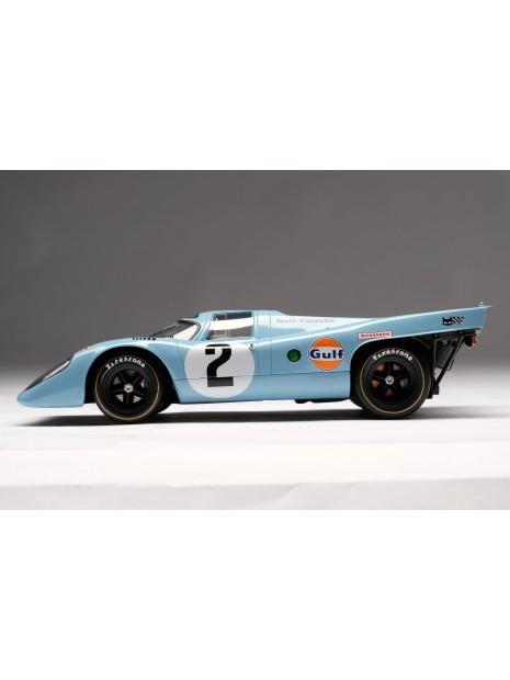 Porsche 917K Gulf Winner Daytona 1970 1/18 Amalgam Amalgam Collection - 6