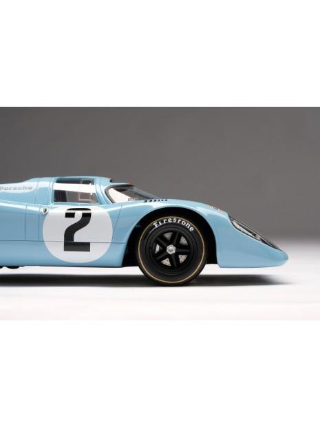 Porsche 917K Gulf Winner Daytona 1970 1/18 Amalgam Amalgam Collection - 8