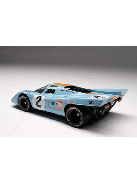 Porsche 917K Gulf Winner Daytona 1970 1/18 Amalgam Amalgam Collection - 9