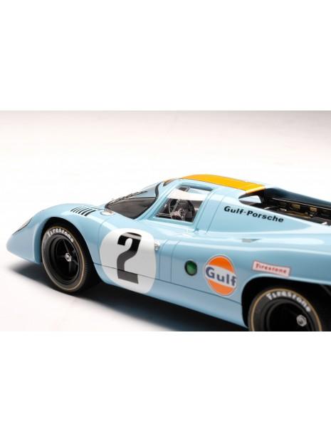 Porsche 917K Gulf Winner Daytona 1970 1/18 Amalgam Amalgam Collection - 10
