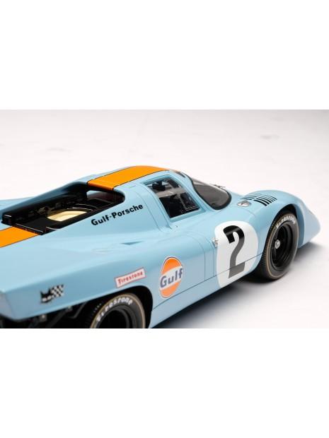 Porsche 917K Gulf Winner Daytona 1970 1/18 Amalgam Amalgam Collection - 11