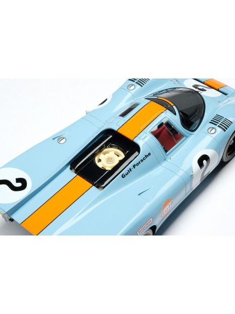 Porsche 917K Gulf Winner Daytona 1970 1/18 Amalgam Amalgam Collection - 12