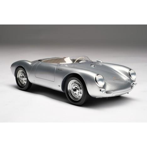 Porsche 550 Spyder (silver) 1/18 Amalgam Amalgam Collection - 1