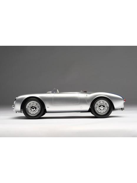 Porsche 550 Spyder (silver) 1/18 Amalgam Amalgam Collection - 3