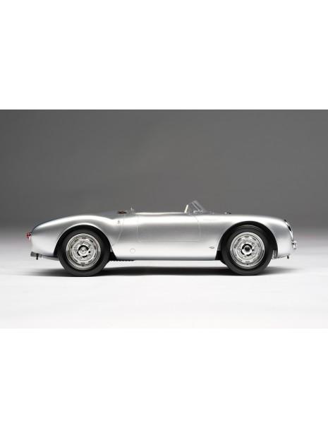 Porsche 550 Spyder (argent) 1/18 Amalgam Amalgam Collection - 4