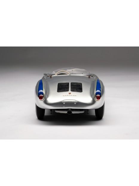 Porsche 550 Spyder (argent) 1/18 Amalgam Amalgam Collection - 5