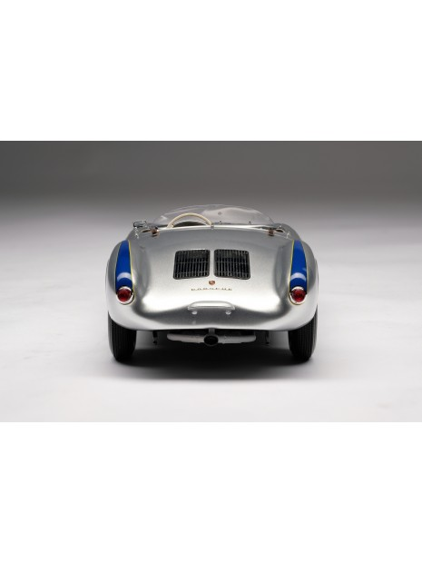 Porsche 550 Spyder (silver) 1/18 Amalgam Amalgam Collection - 5