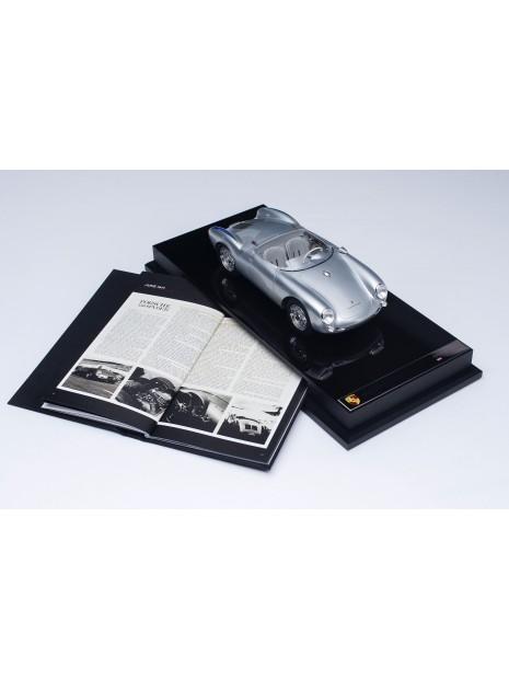 Porsche 550 Spyder (silver) 1/18 Amalgam Amalgam Collection - 7