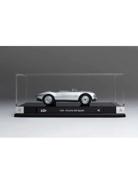 Porsche 550 Spyder (silver) 1/18 Amalgam Amalgam Collection - 8