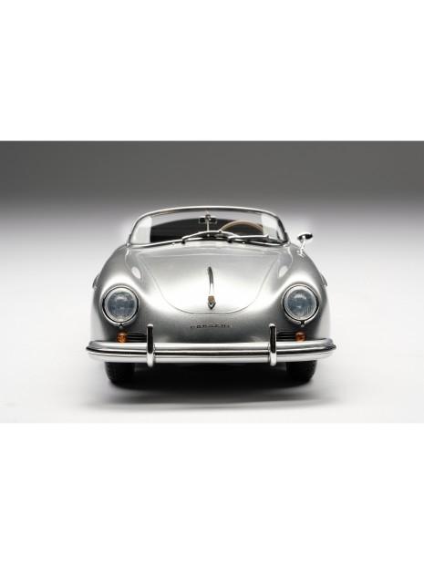 Porsche 356A Speedster (argent) 1/18 Amalgam Amalgam Collection - 3