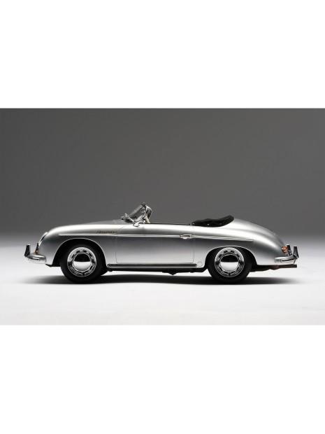 Porsche 356A Speedster (argent) 1/18 Amalgam Amalgam Collection - 4