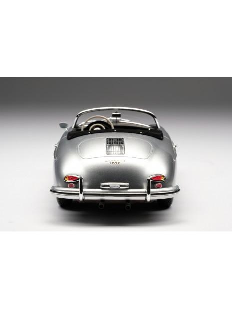 Porsche 356A Speedster (argent) 1/18 Amalgam Amalgam Collection - 5