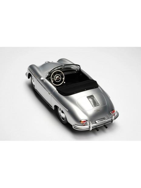 Porsche 356A Speedster (argent) 1/18 Amalgam Amalgam Collection - 6