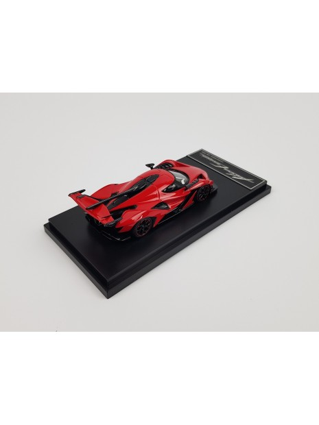Apollo Intensa Emozione (Red/black wheels) 1/43 Peako Peako - 6