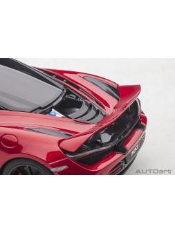 McLaren MP4-12C (metallic silver) 2011 1/18 AUTOart - 1