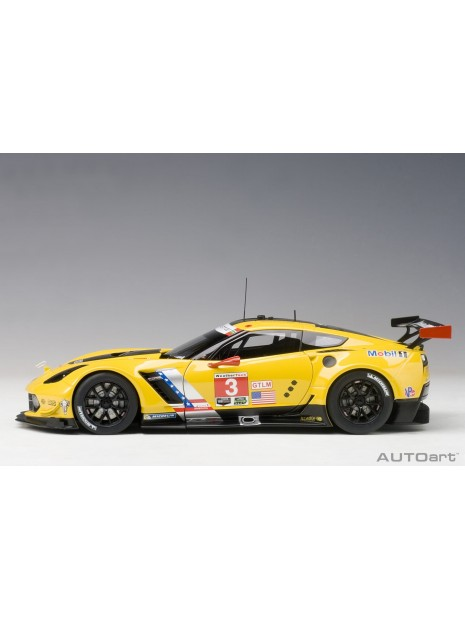 Chevrolet C7.R Lime Rock 2016 Garcia-Magnussen n°3 1/18 AUTOart AUTOart - 7