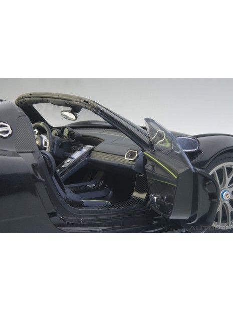 Porsche 918 Spyder Weissach Package (riviera blue) 1/18 AUTOart AUTOart - 25