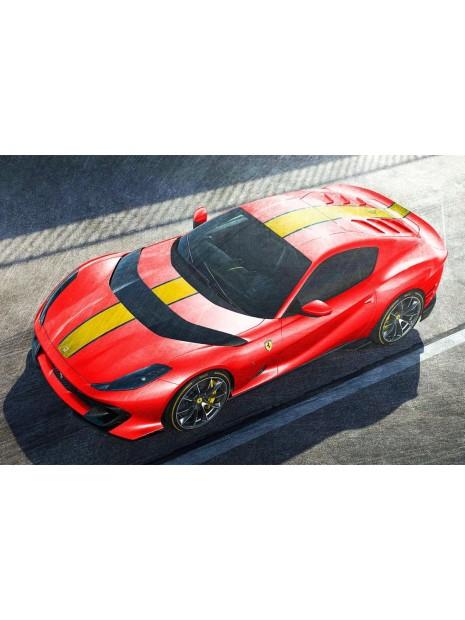 Ferrari 812 Competizione (Rosso Corsa) 1/43 Looksmart Looksmart - 1