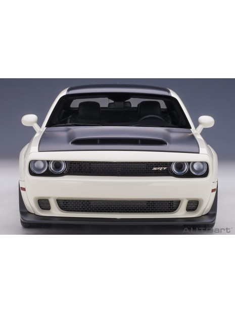 Dodge Challenger SRT Demon (Blanc) 1/18 AUTOart AUTOart - 9